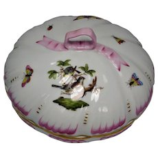 Herend Rothchild Covered Candy Dish