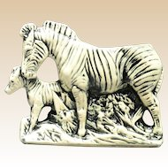 McCoy Pottery 1956 - 57 Zebra Planter