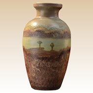 Peters & Reed Pottery 1910 Landsun Scenic #25 Vase