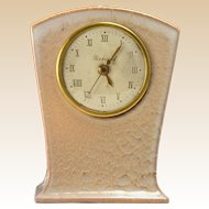 Rookwood Pottery Clock in Beige (Shape #7048), 1950