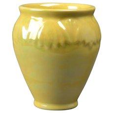 Rookwood Pottery Vase, Nacreous Glaze Stylized Florals Vase #2208, 1915