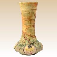 Weller Pottery Baldwin Apple Bud Vase 1915-20 (6 3/4 inch tall)