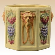 Weller Pottery Planter, 1914-1920's Roma Hexagon Planter