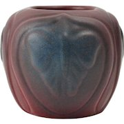 Van Briggle Pottery Bowl, 1922-26 Mulberry Luna Moth Bowl #684 USA