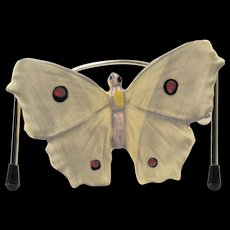 Weller Pottery Butterfly, 1915 Brighton Butterfly Ornament