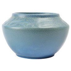 Rookwood Pottery Bowl, 1921 Blue Frogskin Bowl #2179