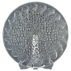 Lalique Crystal Bowl, Pre-1978 Roscoff Fish Bowl