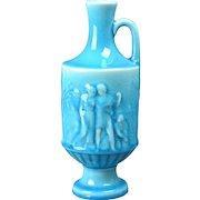 Rookwood Pottery Vase, 1946 Gloss Turquoise Blue Grecian Urn Vase #6791