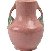 Roseville Pottery Vase, 1928 Pink Tuscany Vase #346-9