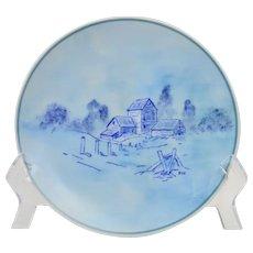 Noritake Japan 1964 Scenic Plate Mark #94 CH