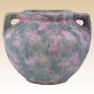 Burley Winter Pottery 1872-1937 Gray over Purple Vellum Planter #41