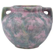 Burley Winter Pottery 1872-1937 Gray over Purple Vellum Planter #41