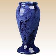 Brush McCoy Pottery Vase, 1924 Blue Onyx #745