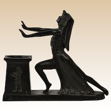 LV Aronson 1924 Egyptian Incense Burner Desk Accessory