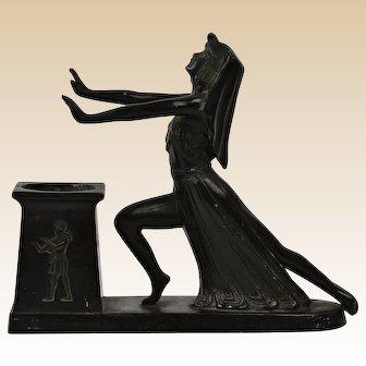 LV Aronson 1924 Egyptian Incense Burner Desk Accessory