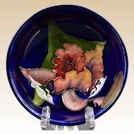 Moorcroft Pottery 1950-86 Blue Iris Small Bowl Sticker