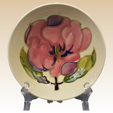 Moorcroft Pottery 1950-86 White Magnolia Small Bowl