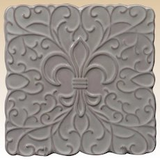 Frankoma Pottery 1966-89 White Spanish Iron Trivet 3TR