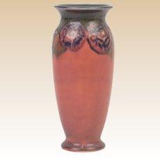 Rookwood Pottery 1924 Floral Decorated Mat Vellum Porcelain Vase #2721 Elizabeth Lincoln
