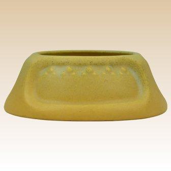 Rookwood Pottery 1911 Yellow Mat Valet Deco Design #1188