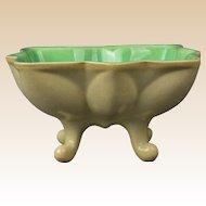 Cowan Pottery 1928 Jade Velour Star Comport C 951