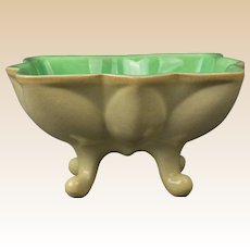 Cowan Pottery 1928 Jade Velour Star Comport C 951