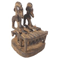 African Senufo Musicians with Balafon