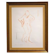 Monotype Nude Drawing