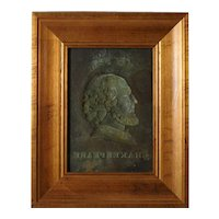 Antique Copper Mould of Shakespeare's Portrait