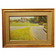 Country House cape Cod Oil Painting By Graffan