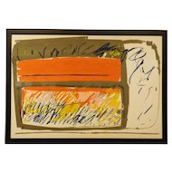 Dianne Sheldon: 1971 Abstract Monotype