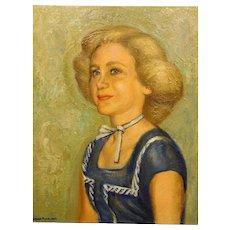 Burnam Pearlman: Portrait of a Blonde Woman