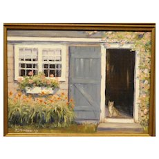 B.J. Borden: Cat in Doorway