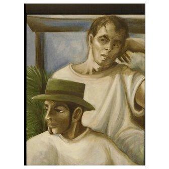Sheryl Schroeder: Portrait of Two Men