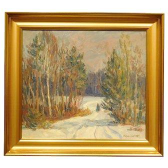 P. Komincz: Winter Landscape