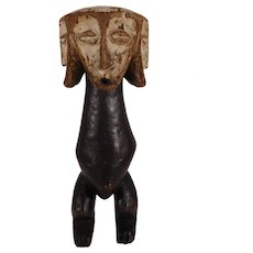 Lega African Bwami Figure with 4-Faces