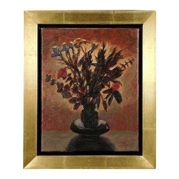 Midnight Flowers oil painting by Bruce Wood