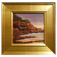 Contemporary Tonalist Marine Oil Painting By Bruce Wood