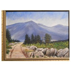 Mt. Washington New Hampshire Oil Painting