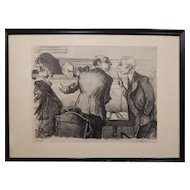 Legal Lampoon Lithograph By Sharp