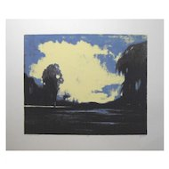 Contemporary Tonalist Serigraph By James McDonald