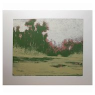 Contemporary Tonalist Serigraph By James McDonald #2