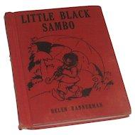 Little Black Sambo by Helen Bannerman  Wee Book Published by Platt & Munk Cir 1935