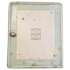Vintage Safetee Metal Shaving Cabinet