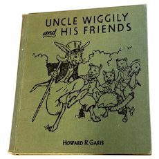 Uncle Wiggily and His Friends Book Howard R. Garis 1955 Illustrated