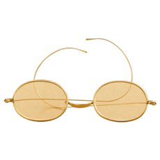 Very Nice Antique Gold Spectacles