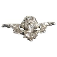 Antique William Kerr Sterling Art Noveau Cherub Brooch