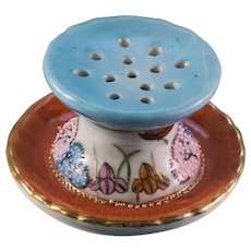 Adorable Hand Painted Nippon Stickpin  Holder