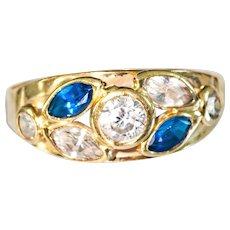 Unusual Vintage European 18k Ring