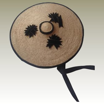 Rare 1860s dolls hat